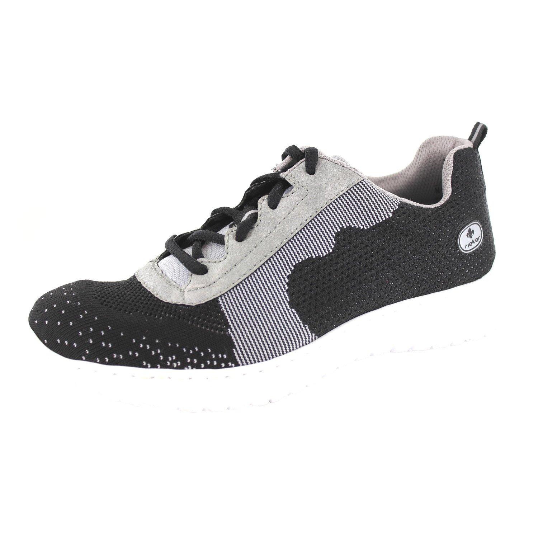 Rieker N4108 00 Damen Schnürschuh: : Schuhe
