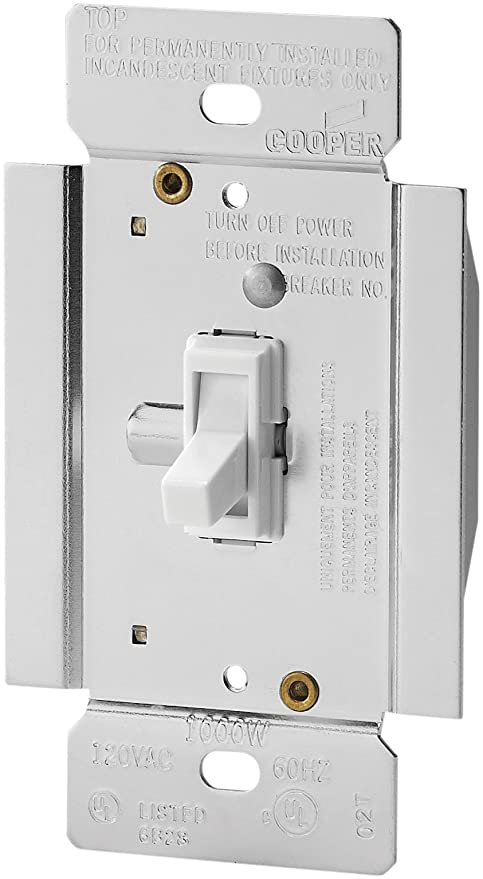 Eaton TI3101W Trace Dimmer with Combination SinglePole 3Way Unit