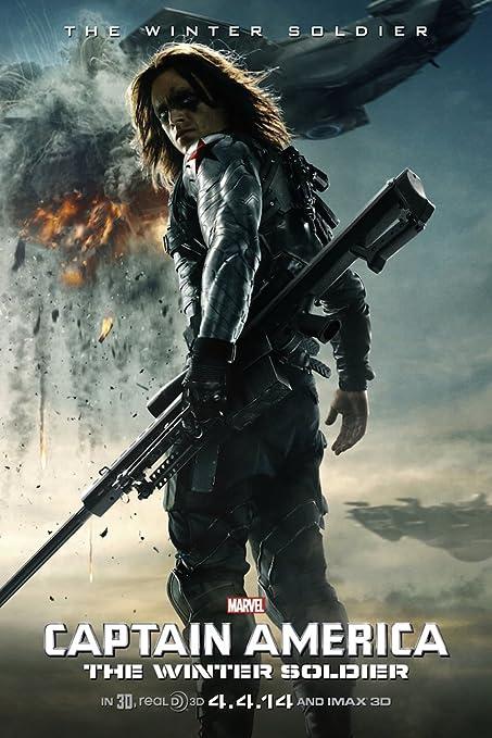 Avengers: Infinity War Movie Poster Sebastian Stan v13 24x36 - Winter Soldier