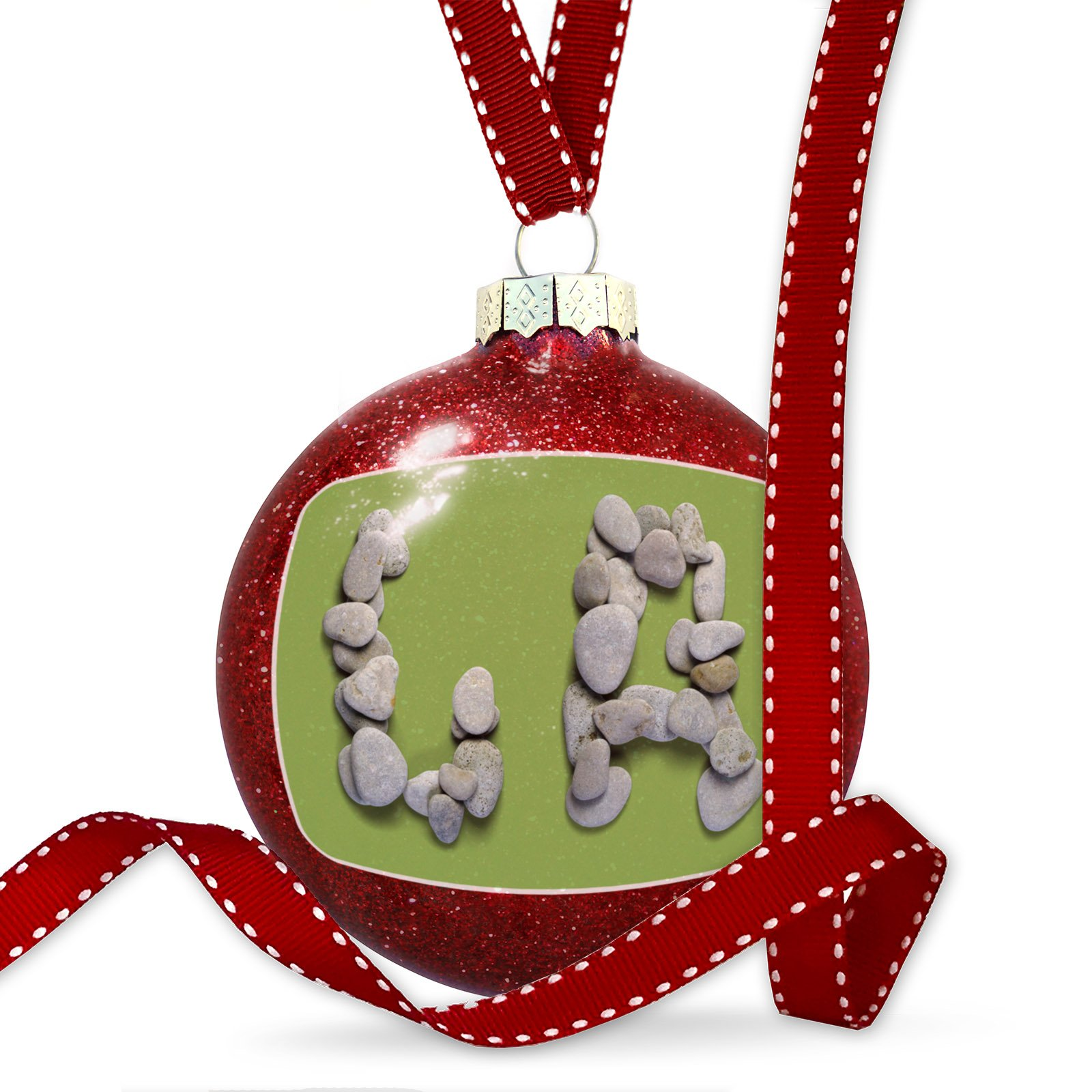 Christmas Decoration LA Spa Stones Ornament