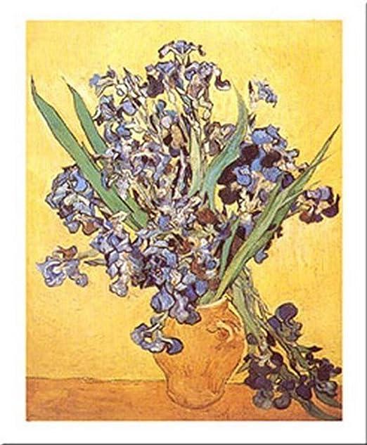 Buyartforless Irises by Vincent Van Gogh 20x16 Art Print Poster