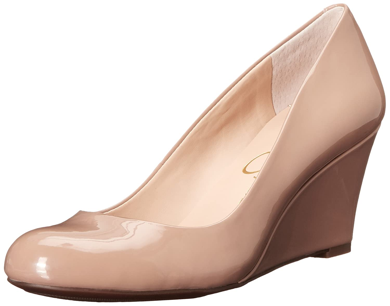 Jessica Simpson Footwear Women Sampson Wedge Pump B015564U7W 6.5 B(M) US|Nude