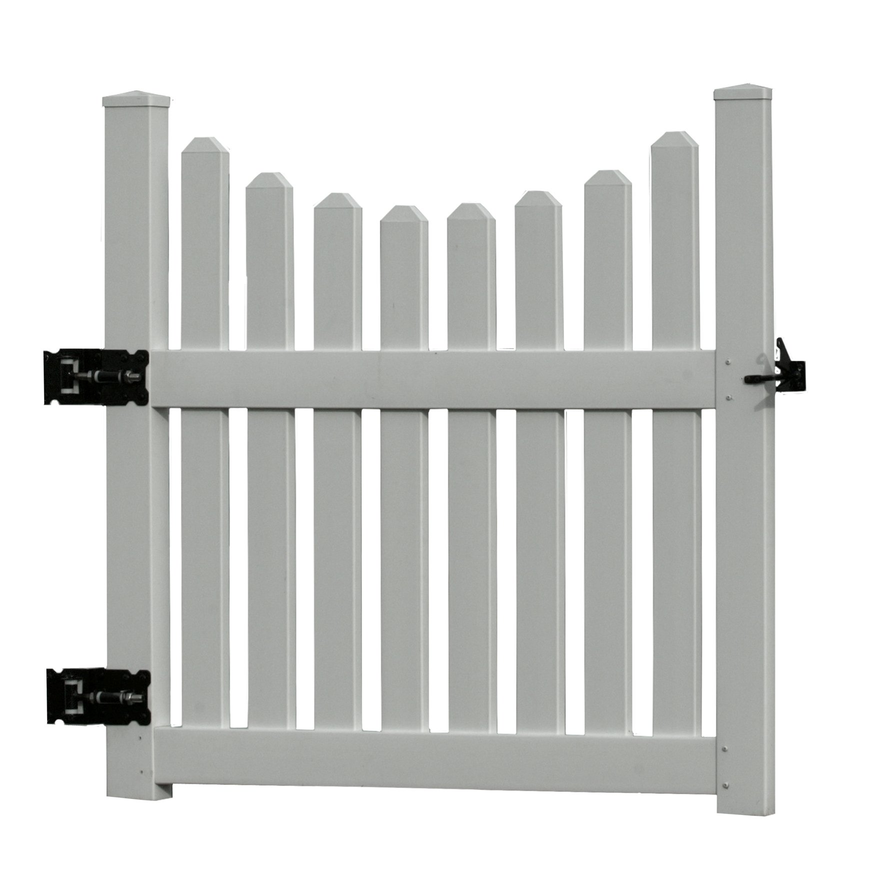 48.5''W Vinyl Cottage Picket Gate by New England Arbors