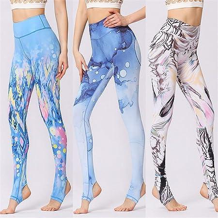 Oipoodde Pantalones de Yoga, Pantalones de Yoga Impresos ...