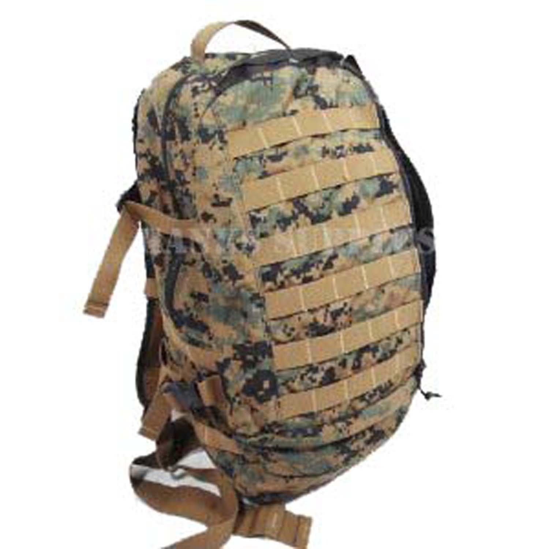 Military Outdoor Clothing以前issued u.s. G。I。MARPATウッドランドデジタルカモAssaultバックパック B00DJUL5DY