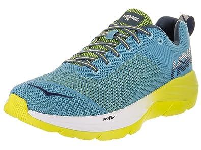 Hoka One One Hombre Zapatillas de Deporte, Hombre, Mach, Niagara-Sulpher-Spring, 41 1/3: Amazon.es: Zapatos y complementos