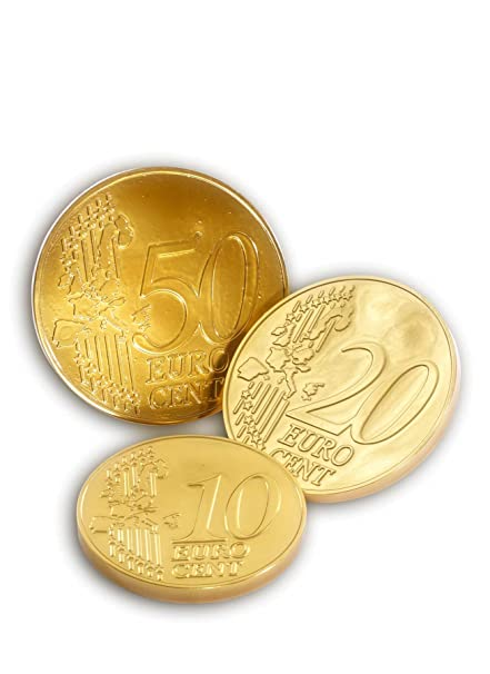 Euro Münzen Pvc Tiefgezogen Gold 3 Tlg 10 Cent 20 Cent 50