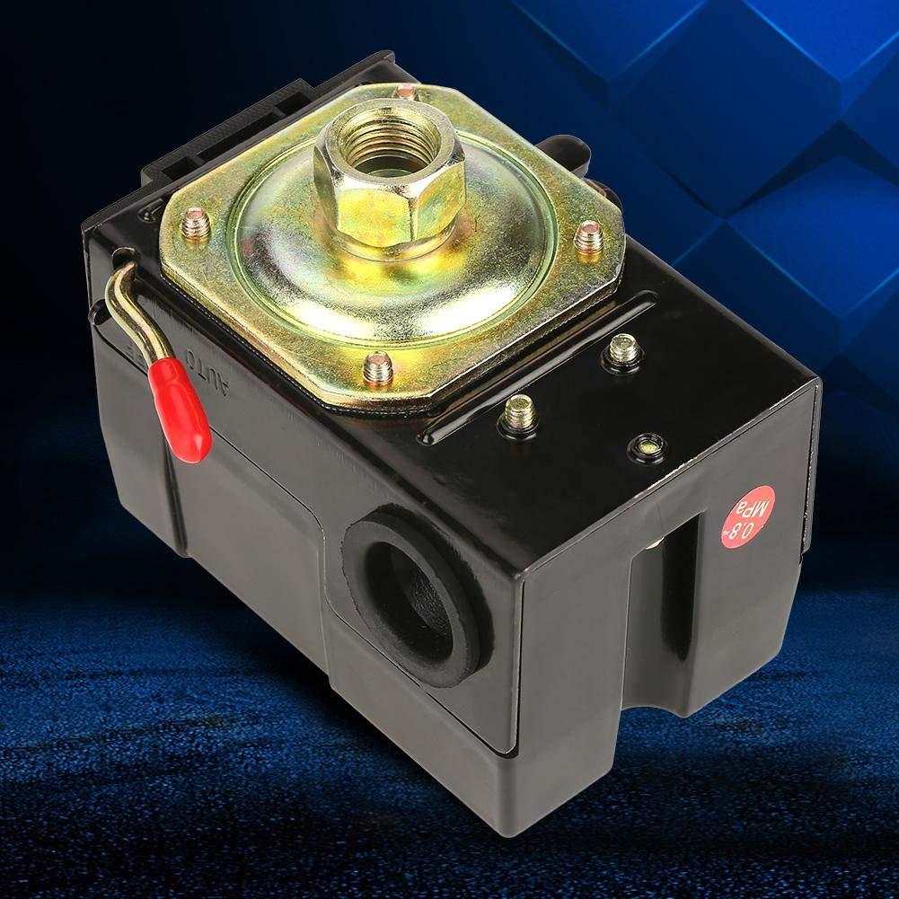 1 commutateur universel de manocontact 95-125 psi pour la soupape de commande de pompe de compresseur dair Compresseur de manocontact
