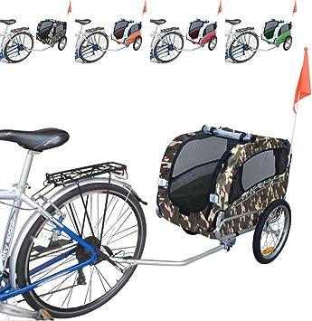 Papilioshop Snoopy Remolque de Bicicleta para el Transporte de ...