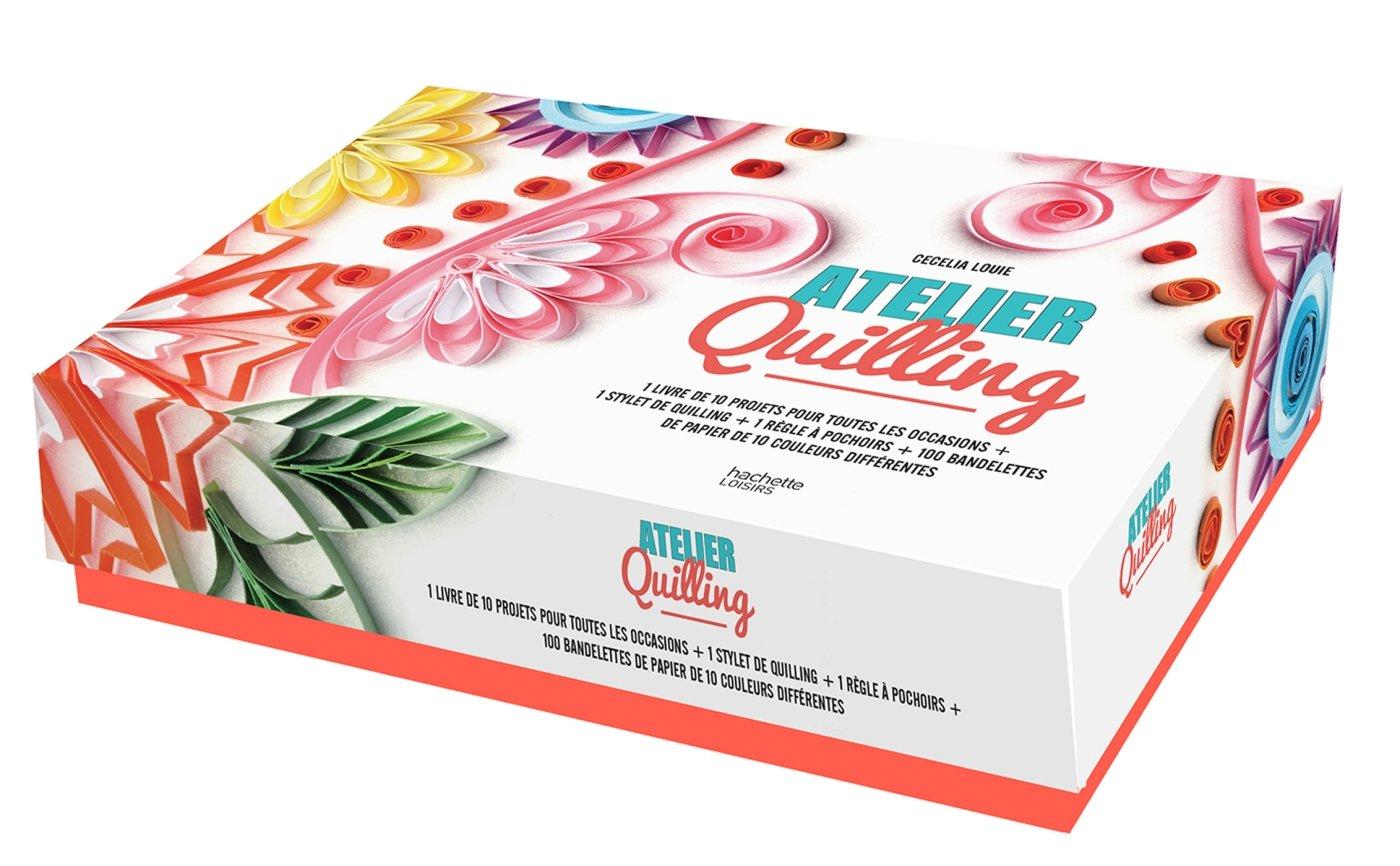 Atelier Quilling Fifi Mandirac 9782013968034 Amazon Com