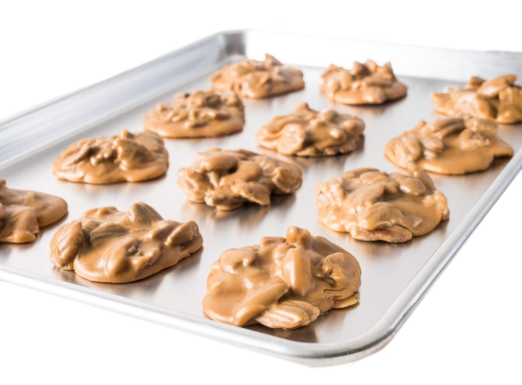 Heat & Serve Original Pecan Pralines   Savannah's Candy Kitchen - Includes Praline Baking Mat by Savannah's Candy Kitchen