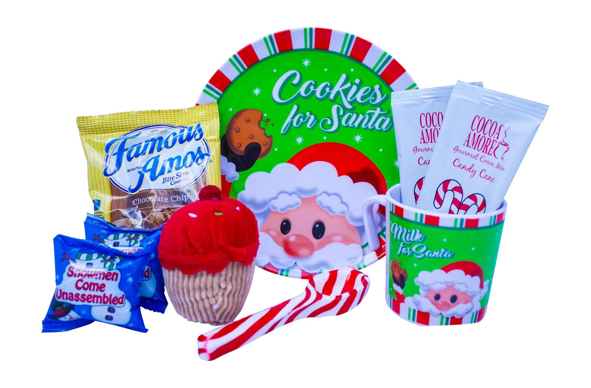 Amazon.com : Christmas Hot Cocoa and Cookies Gift For Kids With Mug ...