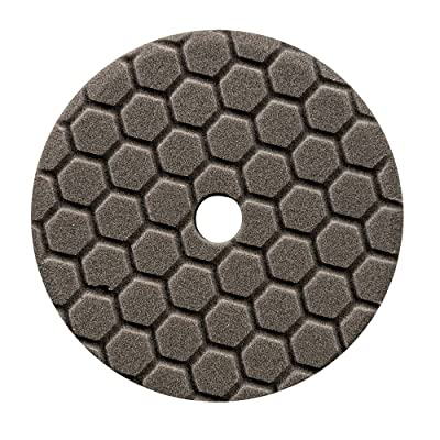 Chemical Guys BUFX116HEX6 Hex-Logic Quantum Finishing Pad, Black (6.5 Inch Pad made for 6 Inch backing plates): Automotive