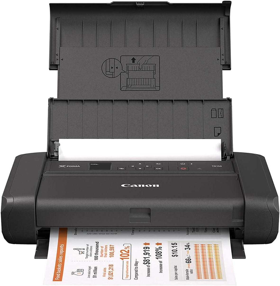 Canon PIXMA TR150 Wireless Mobile Printer With Airprint