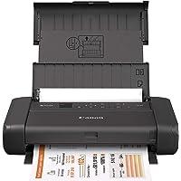 Canon Impresora portátil inalámbrica PIXMA TR150 con Airprint y Cloud Compatible, Color Negro