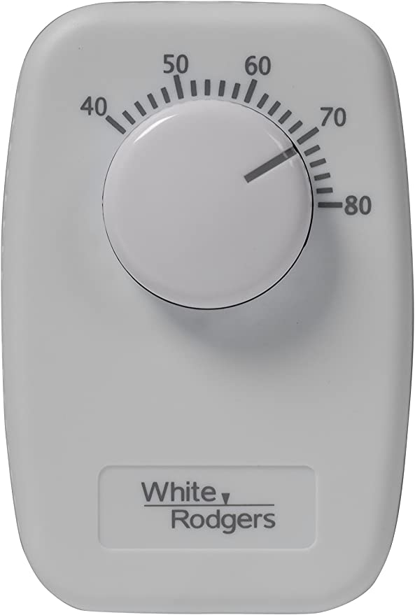 White-Rodgers B30 Mechanical Single Pole Line Voltage Thermostat for sale online