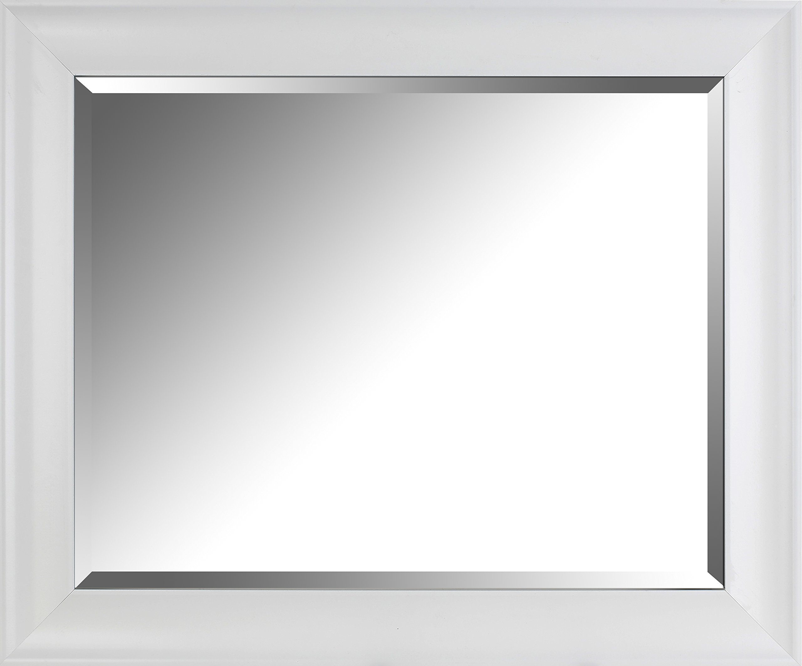 Mirrorize AMACTCM49 Cafe Bevel Wall, 28.5x34.5x3.25, Clear by Mirrorize