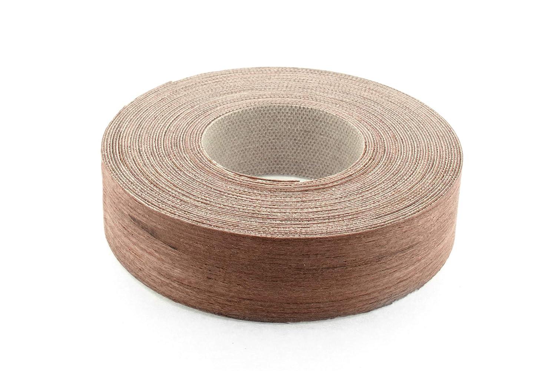 Teak Holz Furnier Einfassung/Furnier Rand Streifenbildung Tape (22 mm Breite x 7, 5 m lä nge) –  Superior Grade serienmä ß ig DIY zum Aufbü geln (Hotmelt) PE & geschliffen Furnier Einfassung Rollen
