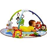 SAVING BASKET Baby Play Gym Mat Jungle Musical Activity 0-24m (Multicolour)