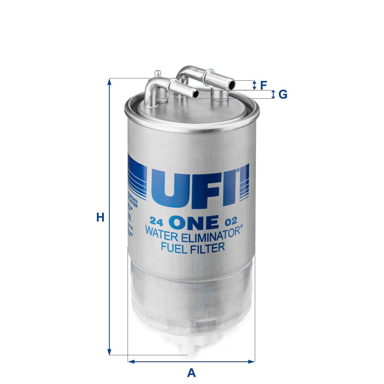Ufi Filters 24.ONE.02 Dieselfilter