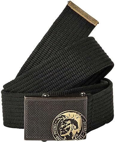 Diesel Cinturón Hombre B-Buzyy, Algodón, Hebilla de Metal Iroquois ...