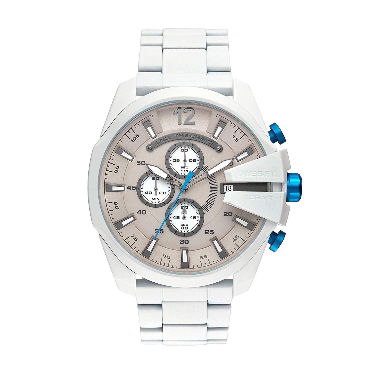 Watch Diesel Men's Mega Chief Watch Quartz Mineral Crystal DZ4502 DZ4502 by Diesel