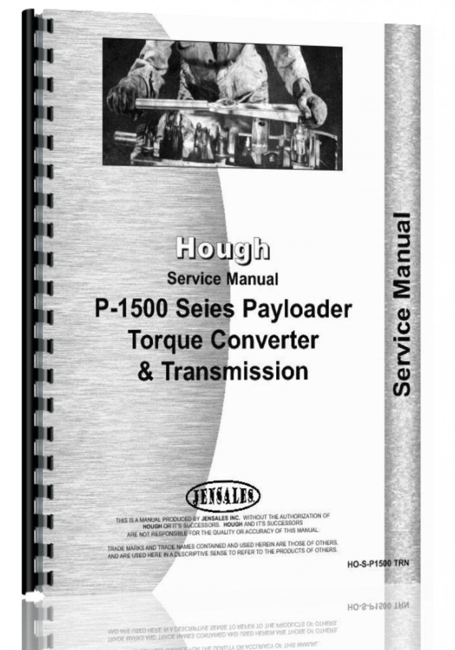 Hough H 90c Pay Loader Transmission Torque Converter Service Gravely Tractor Wiring Diagram Manual Jensales Ag Products 6301147680037 Books