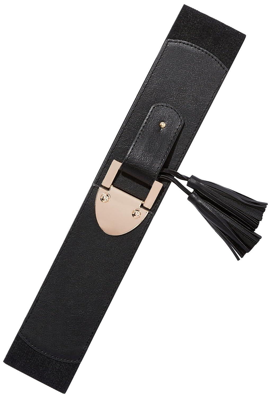 New York & Co. Women's Tassel-Accent Stretch Belt