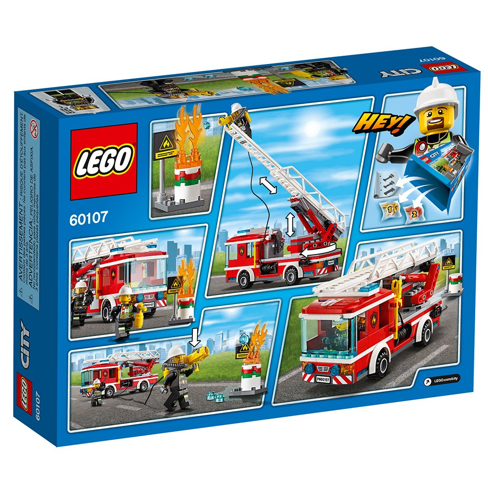 LEGO City Fire Ladder Truck 60107 by LEGO (Image #7)