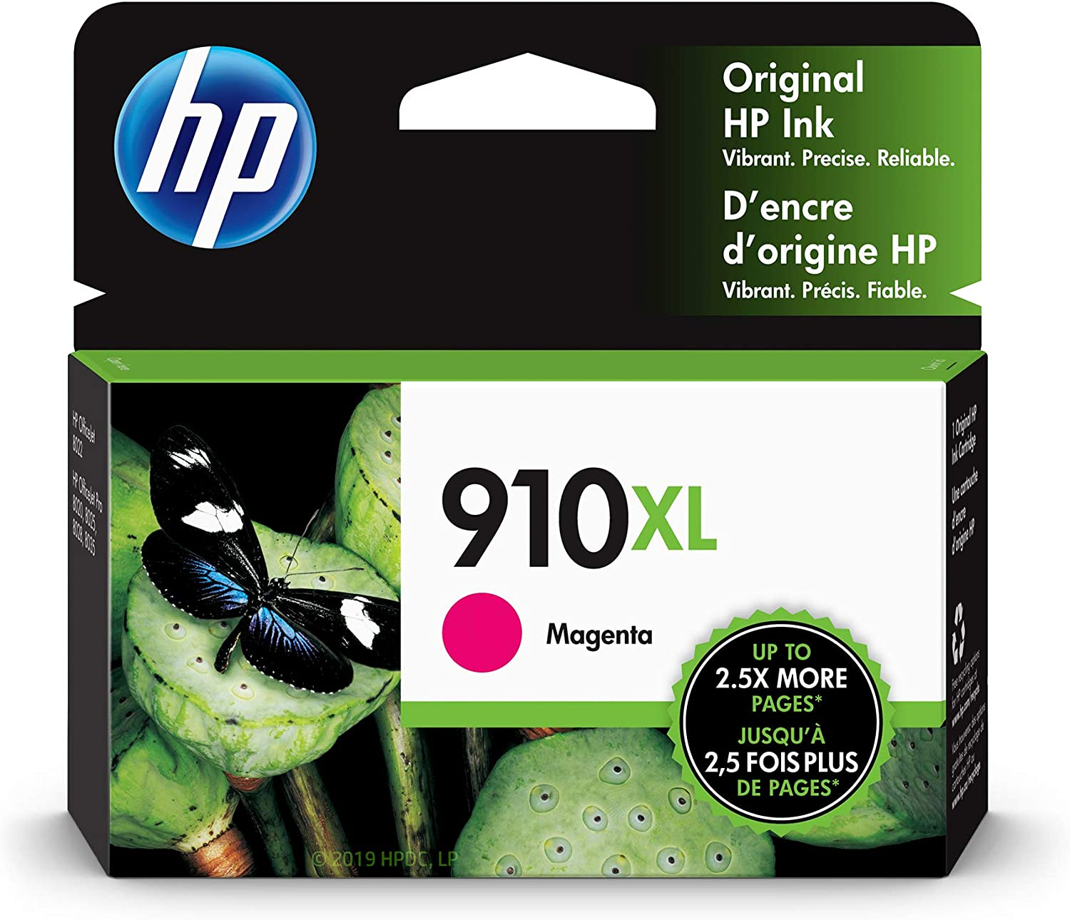 HP 910XL | Ink Cartridge | Magenta | 3YL63AN