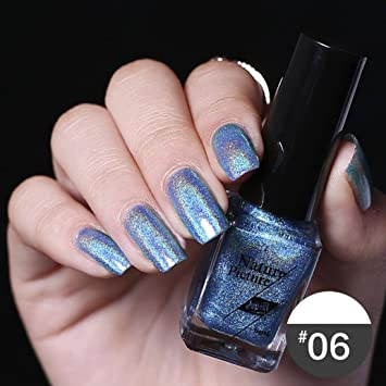 Esailq 18 Color Esmalte De Uñas De Espejo Efecto Color De