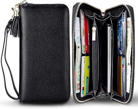 Wallets Women Zipper Wallet Clutch Wallet Female Long Large Card Purse Handbag