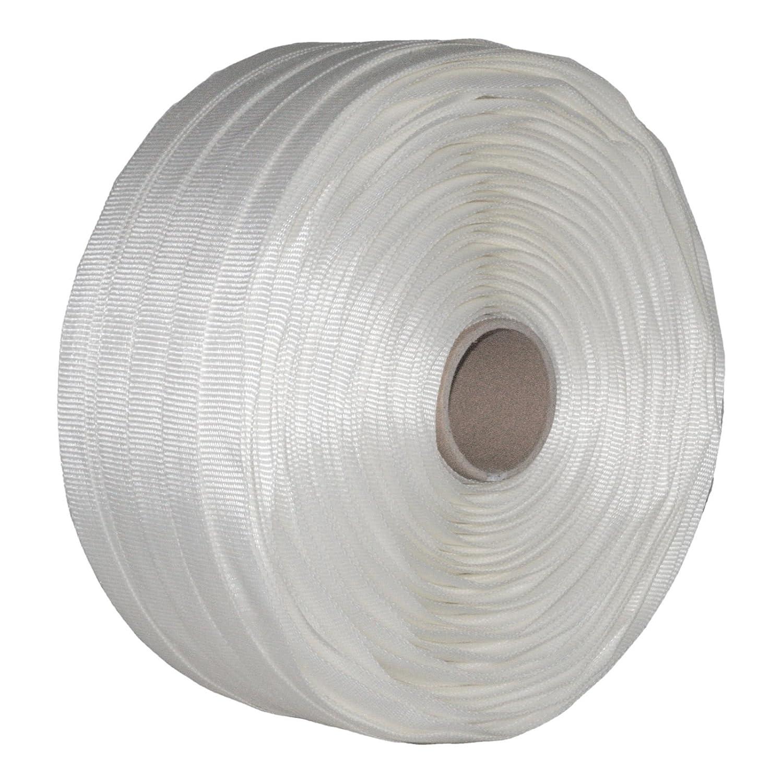 16 mm Textil gewebt Umreifung Set Umreifungsband Abroller Bandspanner Klemmen
