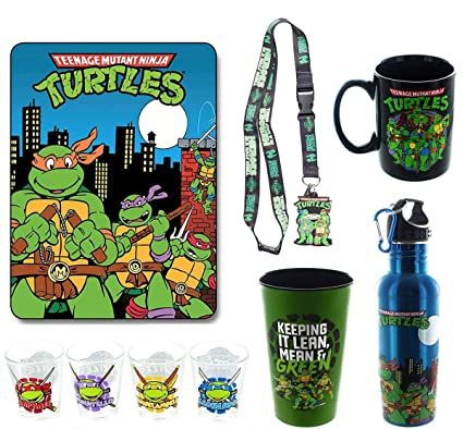 Amazon.com: Teenage Mutant Ninja Turtles Bundle: Mug ...