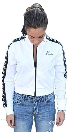 551df5ed Kappa Women's Sweatshirt White Bianco: Amazon.co.uk: Clothing