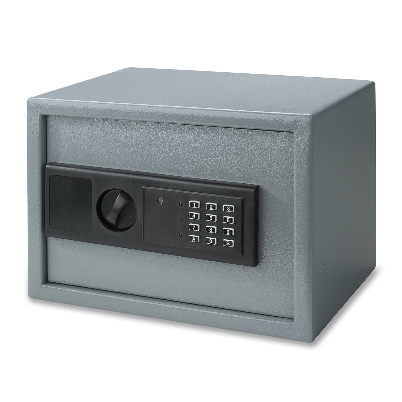 Neiko 61011 Digital Electronic Security Safe, Steel | Keyless Entry | 1 Cubic Foot | Gray