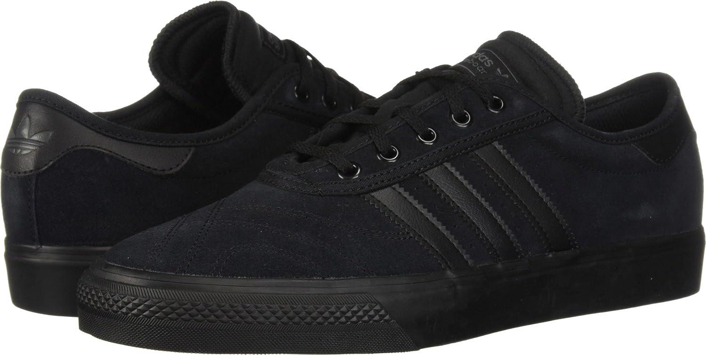 adidas Originals Men's Adi-Ease Premiere Fashion Sneaker 11 D(M) US|Core Black/Core Black/Dark Grey Heather Solid Grey