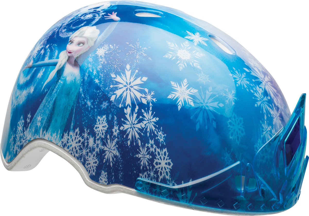BELL Kids' Frozen Child MS 3D Elsa Tiara Helmet, Multi Coloured, 50-54 cm 7080515
