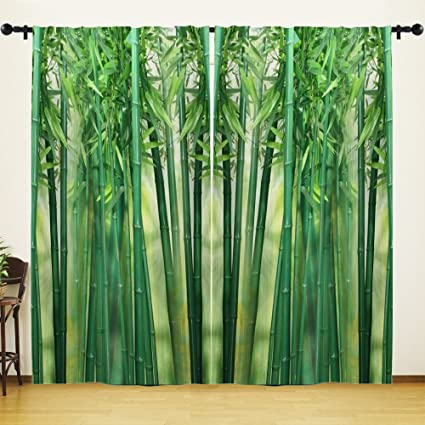 4610f2f182a4 Amazon.com  Bamboo Window Curtain by HGOD DESIGNS