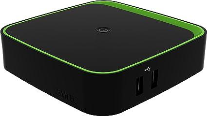 Emtec ECLTVF400 Terrestre Alta Definición Total Negro tV set-top boxes - Reproductor/sintonizador