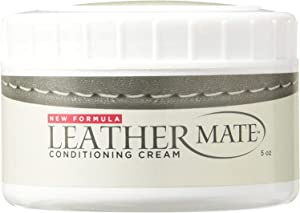 Leathermate by URAD. Leather Moisturizer and Conditioner. Cleans and Protects All Leather. Made in Italy. (Black)