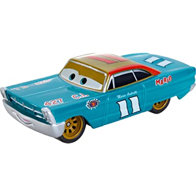 Disney Pixar Cars Mario Andretti Die-cast Vehicle: Toys & Games