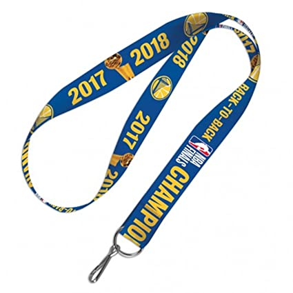 Amazon.com: dorado State Warriors 2018 Champions cordón ...