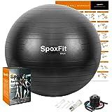 SpoxFit pelota de ejercicio, 25.6 in, pelota de yoga antiexplosiones, pelota de fitness de estabilidad para natación y…