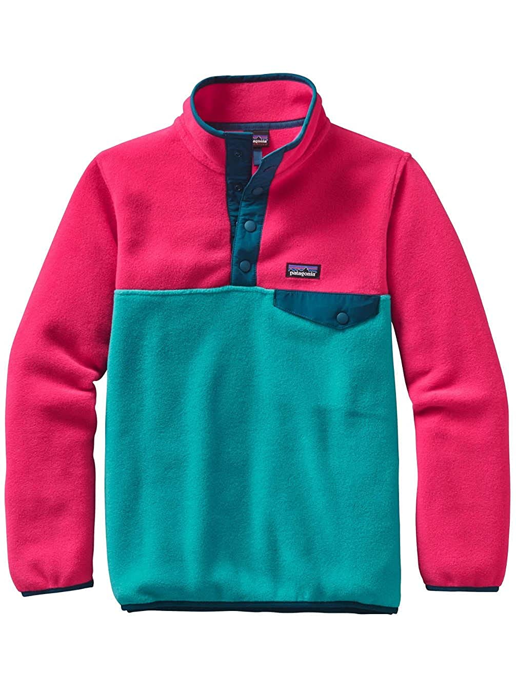 Patagonia Girls Lightweight Synchilla Snap-T Pullover Patagonia Kids 65545