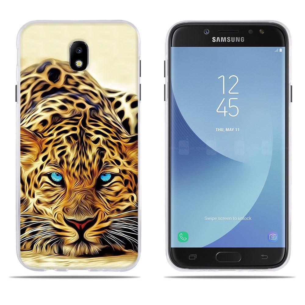 DIKAS Case for Samsung Galaxy J7(2017) J730F/J7 Pro, Fantasy 3D Emboss Pattern TPU Soft Case Silicone Skin Cover Full Body Protective Case for Samsung Galaxy J7(2017) J730F/J7 Pro (5.5')