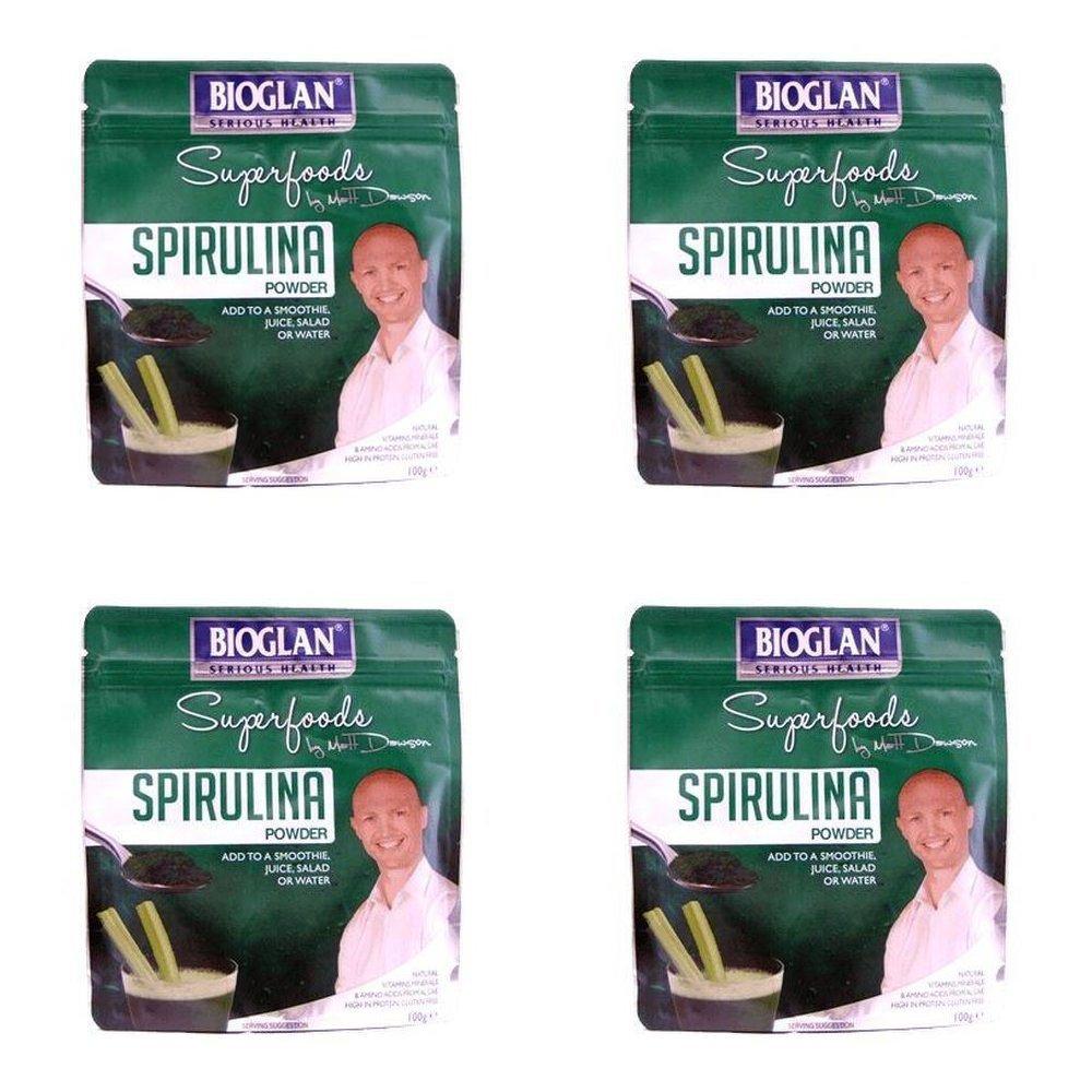 (4 PACK) - Bioglan Superfoods Spirulina | 100g | 4 PACK - SUPER SAVER - SAVE MONEY