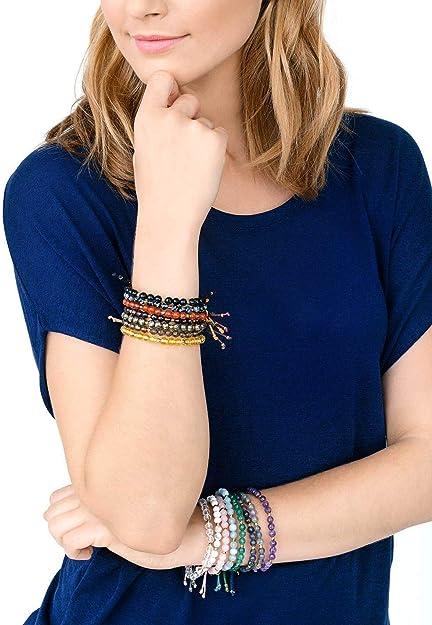 Gorjana Power Gemstone Howlite Beaded Bracelet For Calming 17120532SPKG