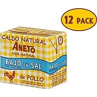 Aneto 100% Natural - Caldo de Pollo Bajo