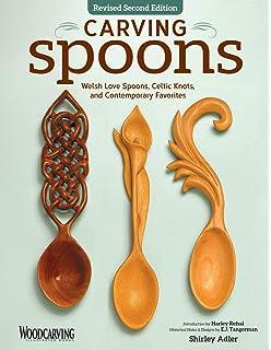 Celtic Carved Lovespoons: 30 Patterns: Sharon Littley, Clive